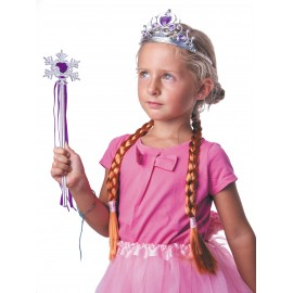SET PRINCESSSE ANA VIOLET 3PCS