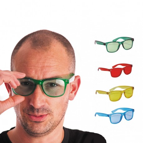 Lunettes invisible assorties
