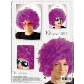 Perruque chicco180 violette