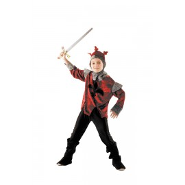COSTUME CHEVALIER ROUGE 7-9ANS