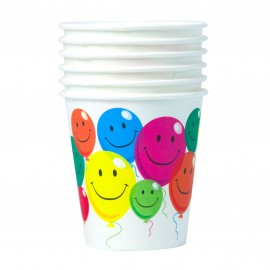 GOBELETS 20CL SMILE X6
