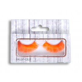 FAUX CILS NEON ORANGE
