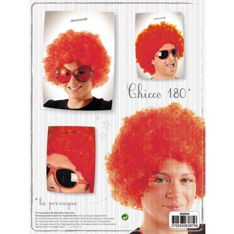 Perruque chicco180 rouge