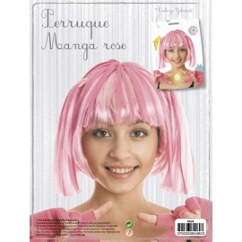 PERRUQUE MANGA ROSE