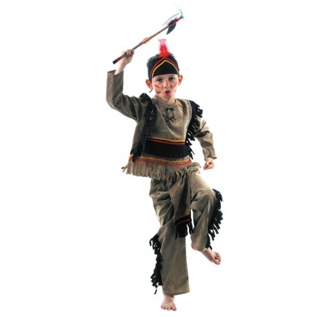 Costume indien sioux 7-9ans
