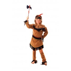 COSTUME INDIENNE SIOUX 7-9ANS