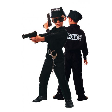 Costume policier 4-6 ans