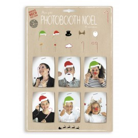 PHOTOBOOTH NOEL 10PCS