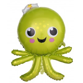 BALLON MYLAR CUTE OCTOPUS
