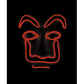 MASQUE BANDIT LED ROUGE