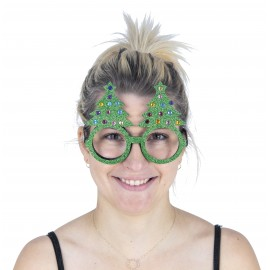 LUNETTES SAPIN PAILLETEES