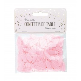 CONFETTIS DE TABLE BIBERON ROSE