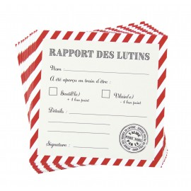 KIT RAPPORTS DES LUTINS SWEETY XMAS