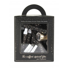 COFFRET 10 PERS. BOITE LUXE GOLD PARTY