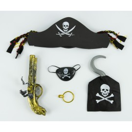 SET PIRATE ENFANT 5PCS