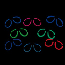 Lunettes couleurs assorties